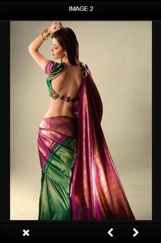 Blouse Designs For Silk Sarees screenshot 1