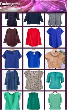 Blouse Woman Design apk screenshot