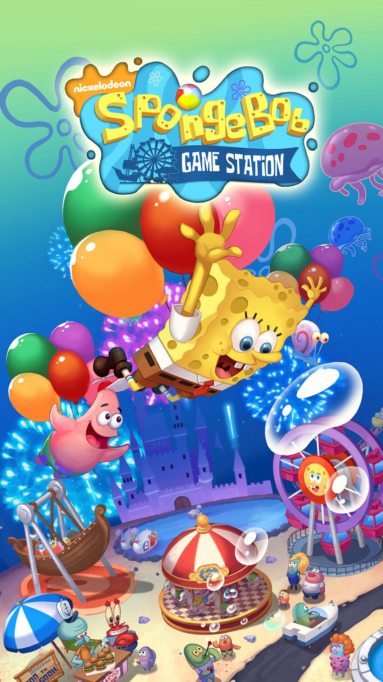 SpongeBob Game Station for Android - APK Download