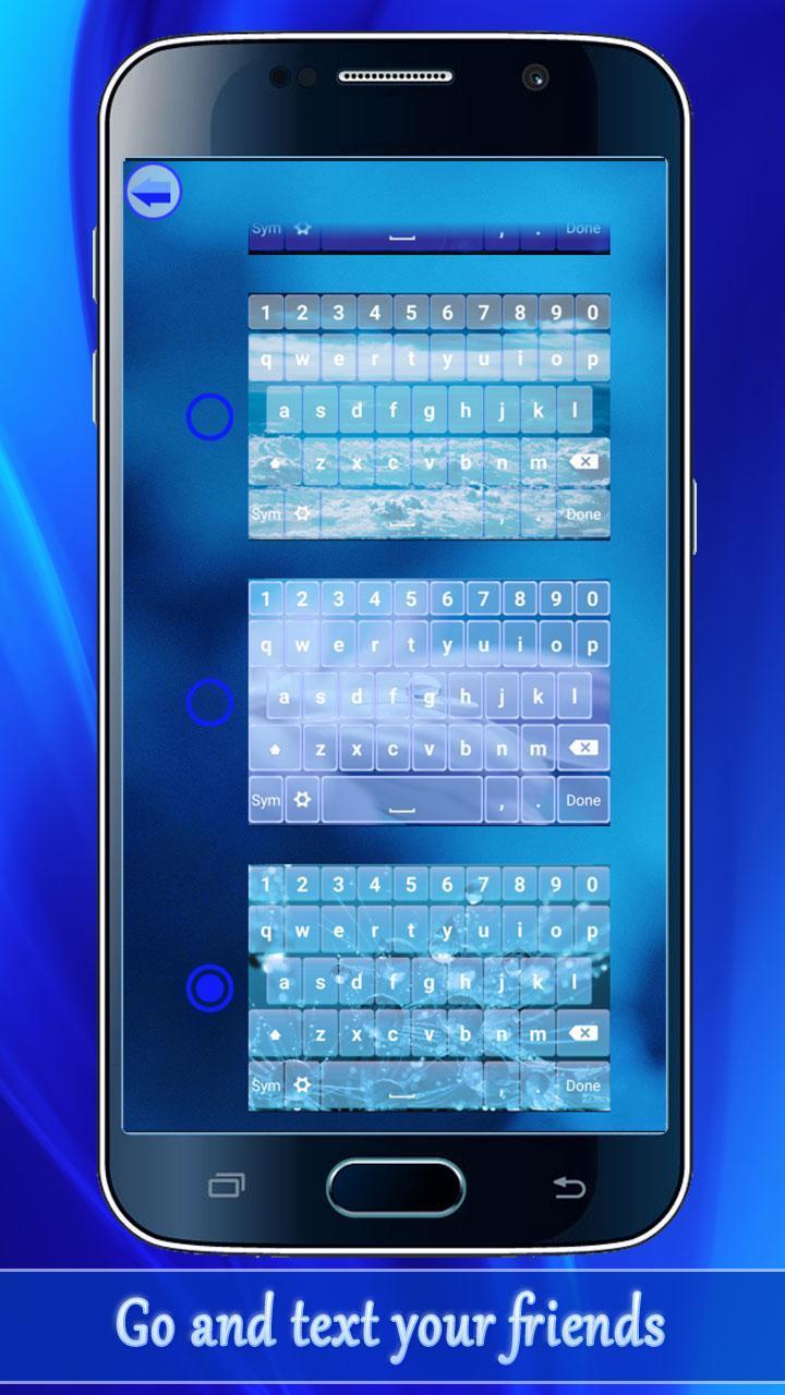Bàn Phím Màu Xanh Dương Cho Android Tải Về Apk