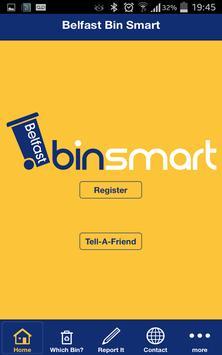 Belfast Bin Smart poster
