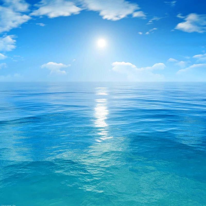15 Gambar Laut Biru Pemandangan Indah Sekali