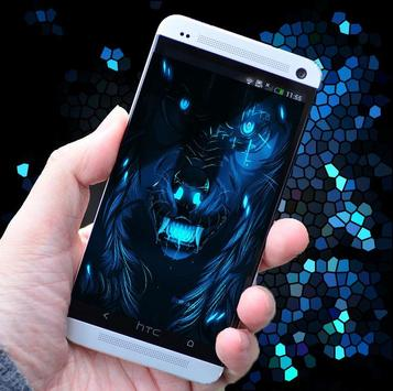 Blue wolf live wallpaper 3d apk download free personalization app blue wolf live wallpaper 3d poster voltagebd Gallery