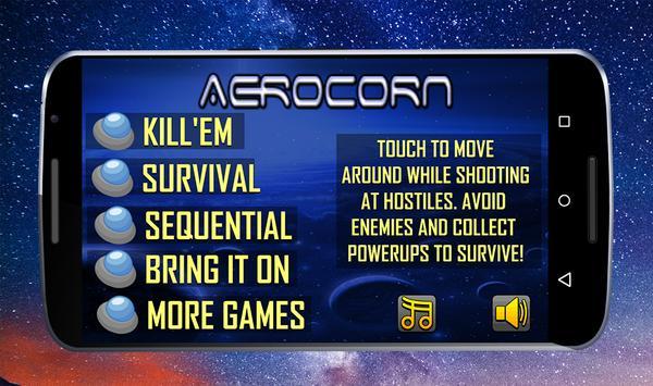 AEROCORN poster