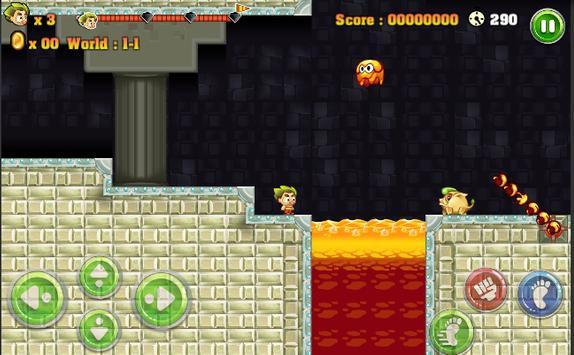 Bobby jungle Adventure Game apk screenshot