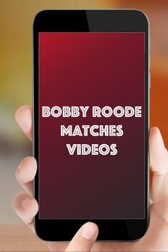 Bobby Roode Matches apk screenshot