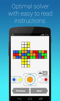 Rubik's Cube Fridrich Solver screenshot 3