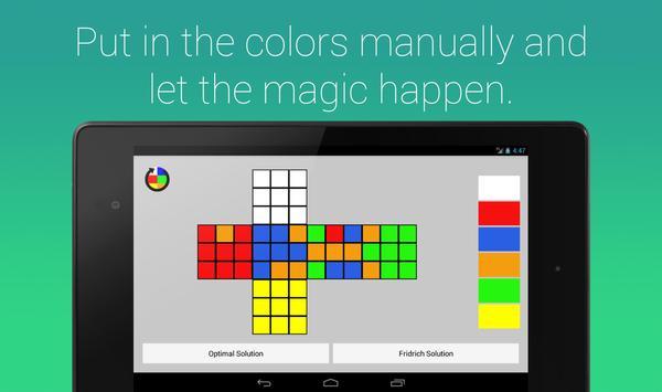Rubik's Cube Fridrich Solver screenshot 10