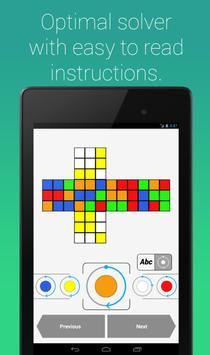 Rubik's Cube Fridrich Solver screenshot 11