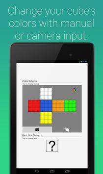 Rubik's Cube Fridrich Solver screenshot 13