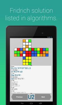 Rubik's Cube Fridrich Solver apk screenshot