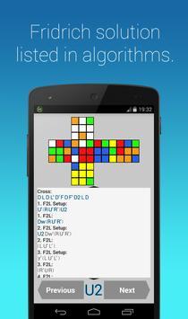Rubik's Cube Fridrich Solver screenshot 4