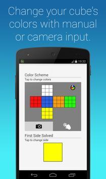 Rubik's Cube Fridrich Solver screenshot 5
