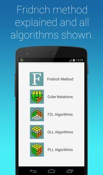Rubik's Cube Fridrich Solver screenshot 6