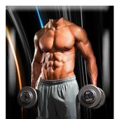 Bodybuilder Photo Montage icon