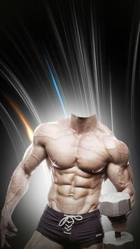 Bodybuilder Photo Montage apk screenshot