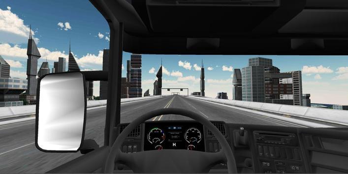 Truck Simulator : BigCity apk screenshot