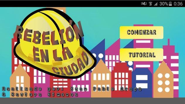 Rebelión en la ciudad poster