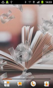 Books Live Wallpaper poster