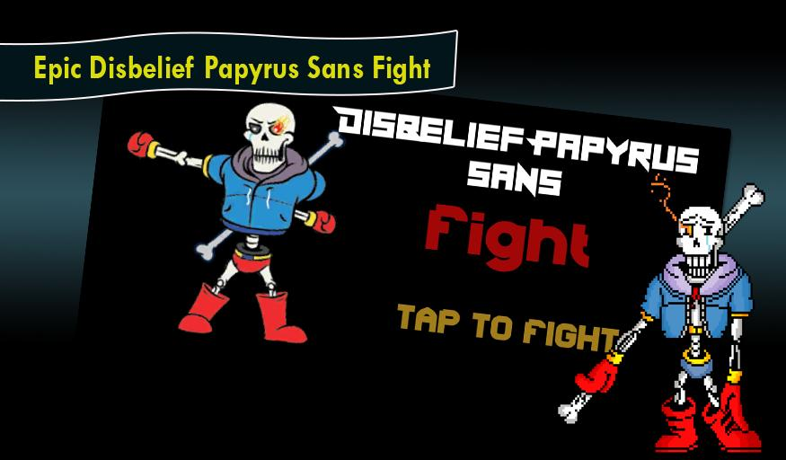 Disbelief Papyrus Sans Fight for Android - APK Download