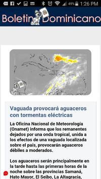 Boletin Dominicano apk screenshot