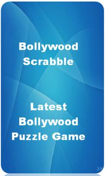 Bollywood Scrabble Puzzle Game - India poster