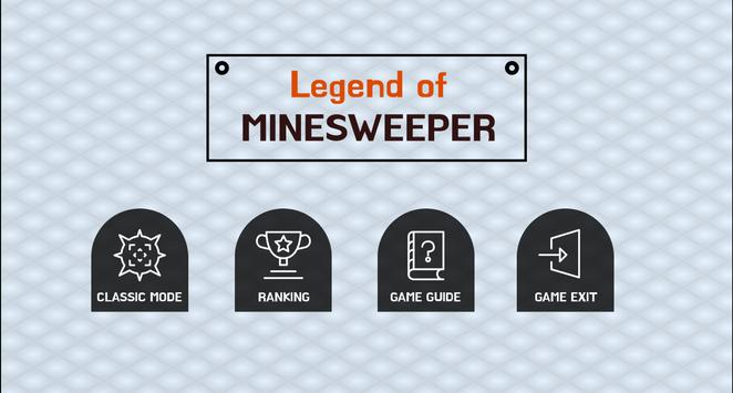 Legend of MINESWEEPER poster