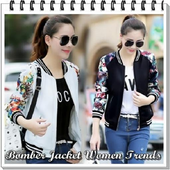 Bomber Jacket Women Trends icon