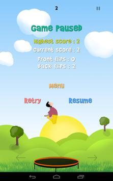 Flying Fluck (Trampoline) screenshot 8