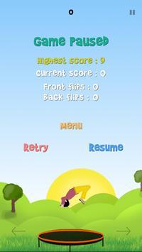 Flying Fluck (Trampoline) screenshot 3