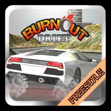 Burnout Drift Freestyle poster