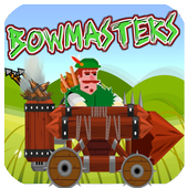 bowmaster jungle Car Adventures icon