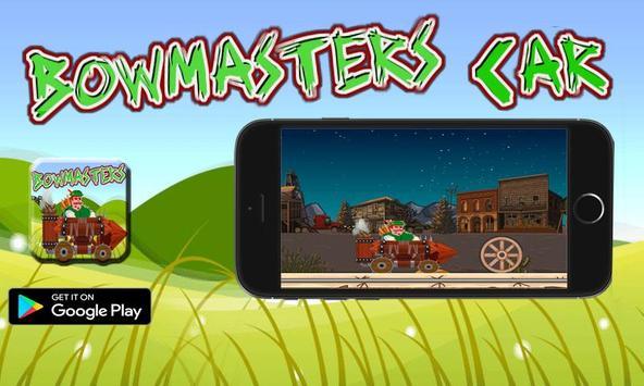 bowmaster jungle Car Adventures screenshot 1