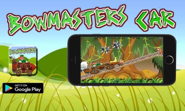 bowmaster jungle Car Adventures screenshot 2