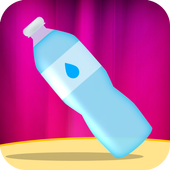 water bottle flipping game icon