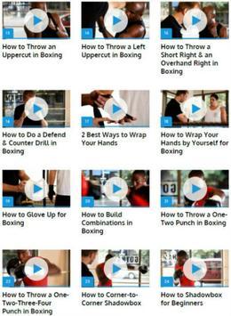 Boxing Lessons apk screenshot