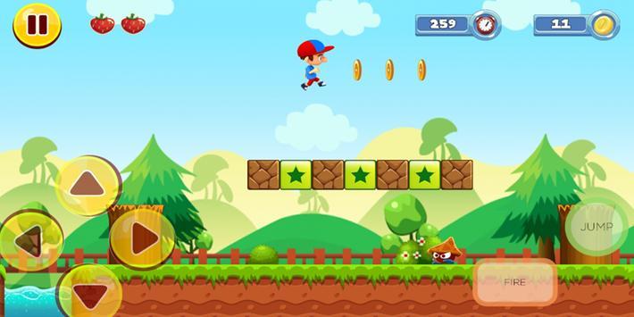 Boy Adventure Run screenshot 1