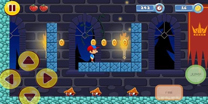 Boy Adventure Run screenshot 2