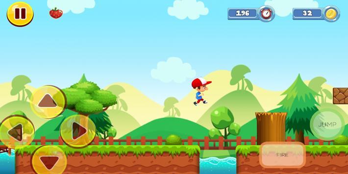 Boy Adventure Run screenshot 4