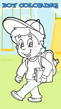 Little Boy New Coloring Book poster