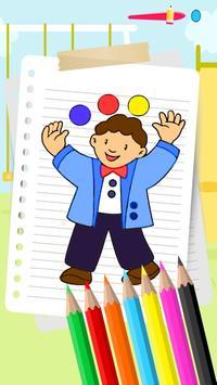 Little Boy New Coloring Book apk screenshot
