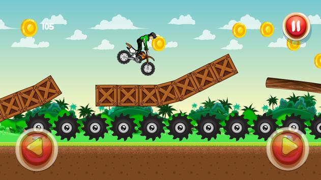 SUPER BEN MOTORBIKE 10 apk screenshot