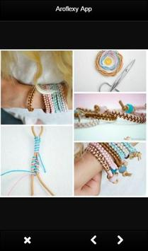 DIY Bracelet Tutorials apk screenshot
