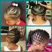 Braided Hairstyle for Kids icon