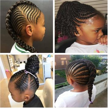 Braided Hairstyle for Kids screenshot 3