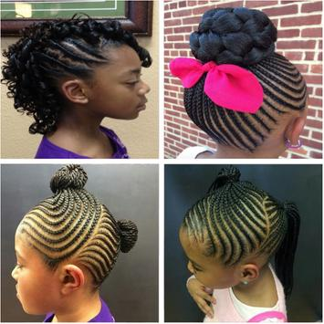 Braided Hairstyle for Kids screenshot 2