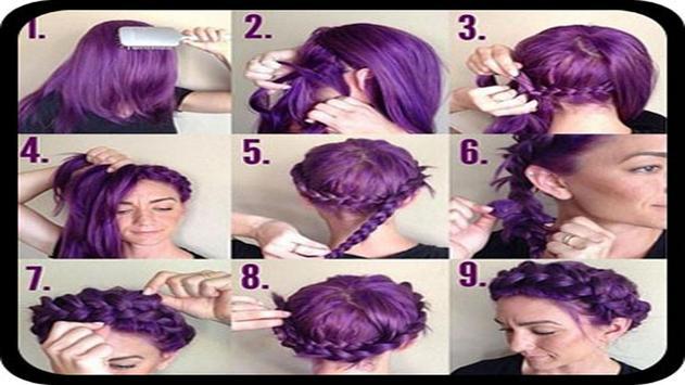 Braid Hair Tutorial apk screenshot