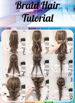 Braid Hair Tutorial poster