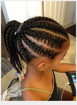 Braid Hairstyle For Kids screenshot 1