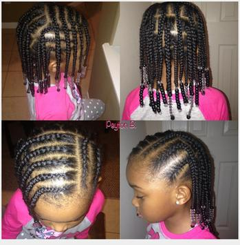 Braid Hairstyle For Kids screenshot 2